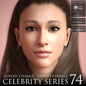 Celebrity Series 74 for Genesis 3 and Genesis 8 Female | Software | Design