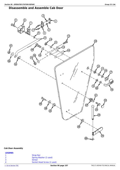 Download John Deere 9660 CTS Self-Propelled Combine (SN