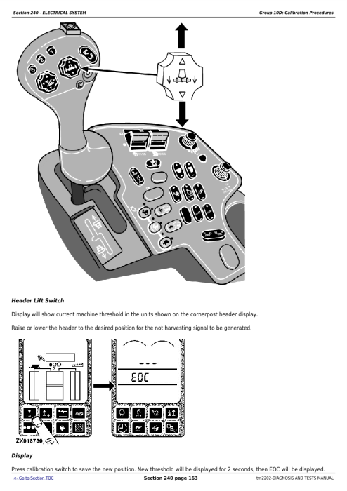 Second Additional product image for - Download John Deere 9560i STS, 9880 STS, 9880i STS Combines Diagnostc,Operation and Test Service Manual TM2202