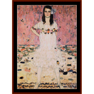 mada primavesi, 2nd edition – klimt cross stitch pattern by cross stitch collectibles