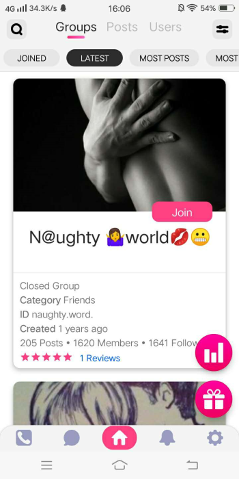 Fourth Additional product image for - The most active paid chat app