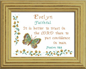 name blessings - evelyn 3