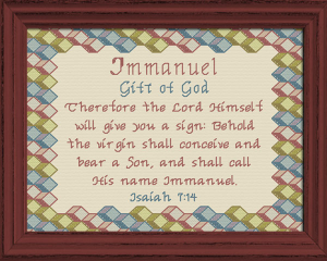 name blessings - immanuel