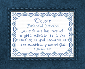 name blessings - tessie