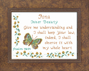 Name Blessings - Iona | Crafting | Cross-Stitch | Other