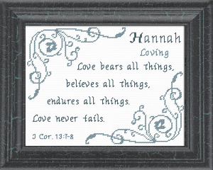name blessings - hannah 6