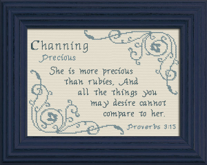 name blessings - channing 2