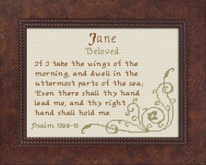 name blessings - jane 2