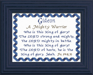 name blessings - gideon 2