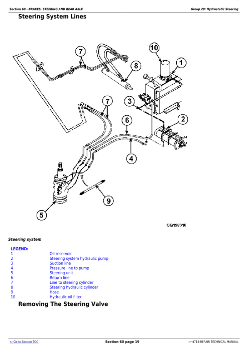 Second Additional product image for - Download John Deere 1450, 1550, 1450CWS, 1550CWS, 1450WTS, 1550WTS Combines Technical Service Repair Manual (TM4714)