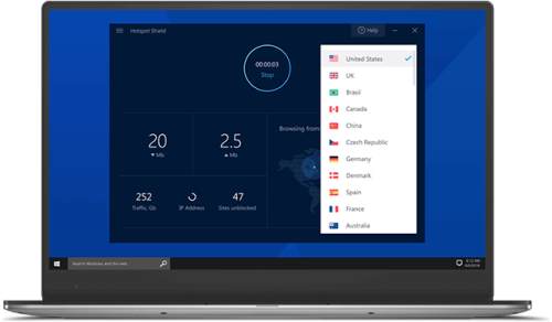 First Additional product image for - VPN Hotspot Shield 9.5.9 the key is activated