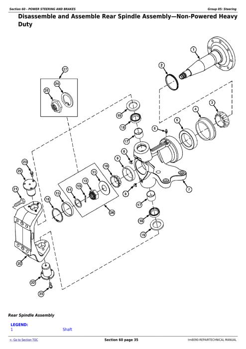 Second Additional product image for - Download John Deere 9660, 9540i, 9560i, 9580i, 9640i, 9660i, 9680i WTS, 9780i CTS Combines Service Repair Manual TM8090