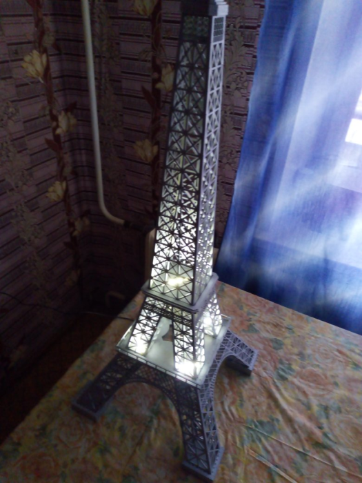 First Additional product image for - eiffel tower cutting template