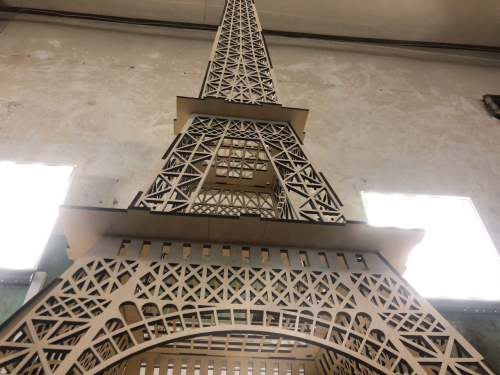 Second Additional product image for - eiffel tower cutting template