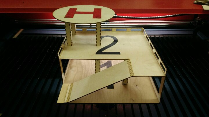 First Additional product image for - helipad parking template