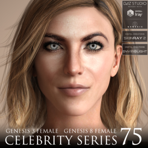 Celebrity Series 75 for Genesis 3 and Genesis 8 Female | Software | Design