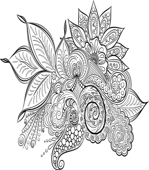 First Additional product image for - Mandala Adult Coloring Ebook - 60 Designs