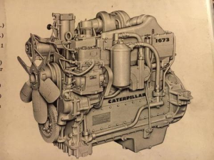 download caterpillar 1673 truck engine spare parts catalog manual 83b