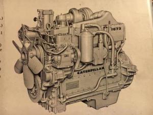download caterpillar 1673 truck engine spare parts catalog manual 74b