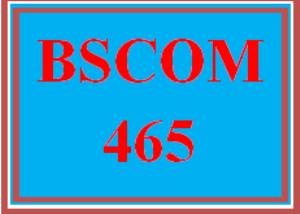 bscom 465 wk 2 team - conflict diagnosis report
