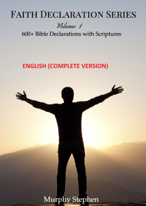 faith declaration series vol 1. (english)