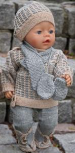 dollknittingpatterns 0035d kirsten – pullover, mütze, leggings, schuhe, schal und handschuhe-(deutsch)