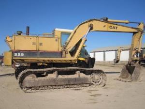 download caterpillar 229d excavator spare parts catalog manual 2lj