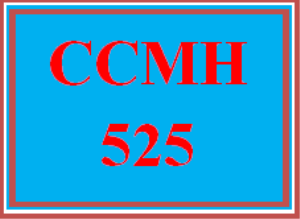 ccmh 525 wk 4 - outline of individual research proposal
