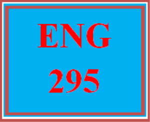 ENG 295 All Discussions | eBooks | Education