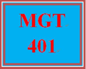 MGT 401 Wk 2 - Practice: Week 2 Knowledge Check | eBooks | Education