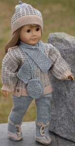 dollknittingpatterns 0035d kirsten (september) - pull, chapeau, collants, chaussures et accessoires-(francais)