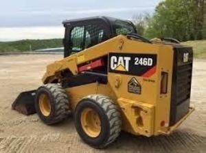 download caterpillar 246d skid steer loader spare parts catalog manual jsl