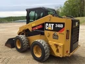 download caterpillar 246d skid steer loader spare parts catalog manual hmr