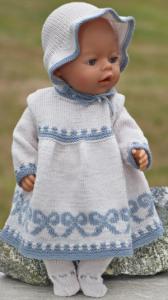 DollKnittingPatterns  0213D Ella - Kjole, truse, kyse og sokker-(Norsk) | Crafting | Knitting | Other