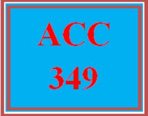 ACC 349 Wk 4 Discussion - Balanced Scorecard | eBooks | Education