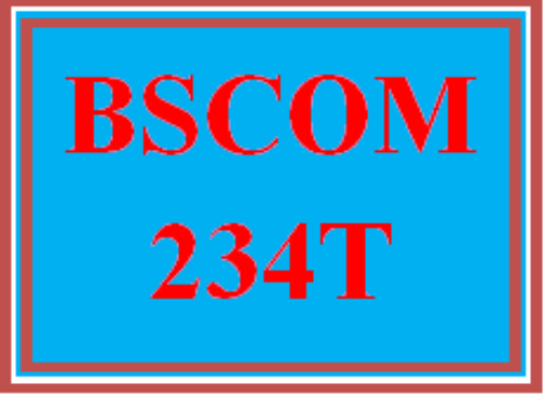 First Additional product image for - BSCOM 234T Wk 2 Discussion - Communication Strategy