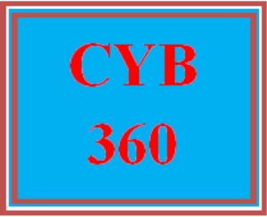 CYB 360 All Discussions | eBooks | Education