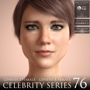 Celebrity Series 76 for Genesis 3 and Genesis 8 Female | Software | Design