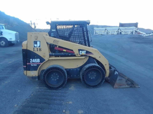 download caterpillar 246b skid steer loader spare parts catalog manual pat