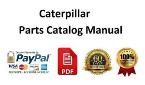 download caterpillar 25 cable control spare parts catalog manual 09d