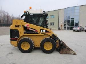 download caterpillar 248 skid steer loader spare parts catalog manual 6lz