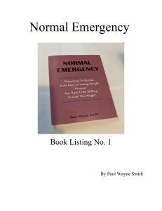 normal emergency
