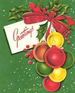 104 full color retro-christmas graphics