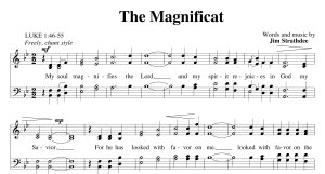 The Magnificat ~ Choral Anthem S.A.T.B. | Music | Folksongs and Anthems