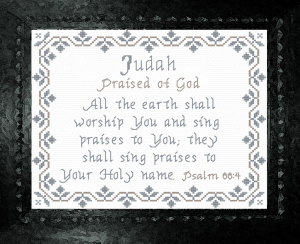 Name Blessings - Judah | Crafting | Cross-Stitch | Other