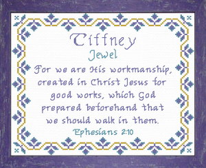 Name Blessings - Tiffney | Crafting | Cross-Stitch | Other