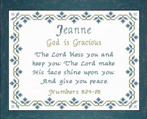 name blessings - jeanne