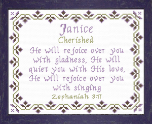Name Blessings - Janice | Crafting | Cross-Stitch | Other