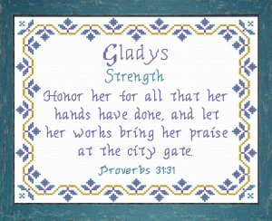 name blessings - gladys