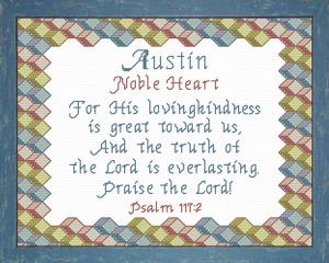 name blessings - austin 3
